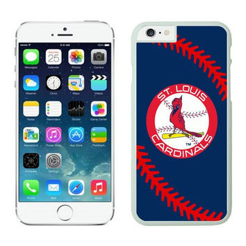 St. Louis Cardinals Designed Snap on iPhone 6 plus Hard Back Cover, Baseball Cool PC Case for iPhone 6 plus (5.5 inches), Phone Case for Men