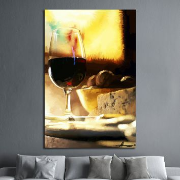 Red Wine Oil Painting №3476