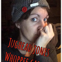Jughead Jones Crochet Beanie Whoppee Cap Made to Order Archie Riverdale