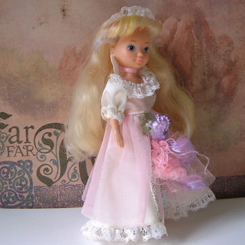 Lady Lovely Locks Doll wearing the Masquerade Gown, 1987