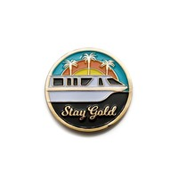 Stay Gold Monorail Pin