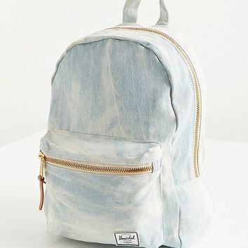 Herschel Supply Co. Grove Bleached Denim Backpack | Urban Outfitters
