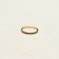 Tilly Doro  Etched Skinny Ring at Free People Clothing Boutique