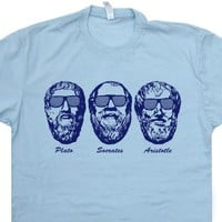 Socrates T Shirt Greek Philosophy T Shirt Plato Shirt Aristotle Shirt Vintage 80s Tees