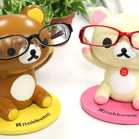 Strapya World : San-X Rilakkuma Eye Glasses Stand (Rilakkuma)【stationery】