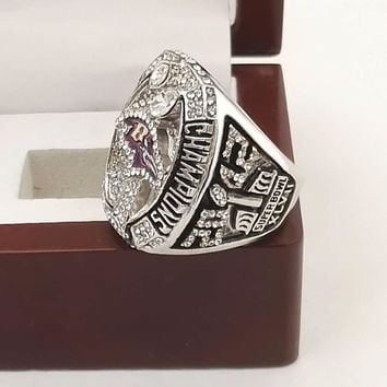 Drop Shipping Good Quality 2012 Super Bowl Baltimore Ravens Championship Rings with Gergeous Wooden Boxes