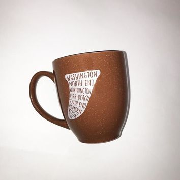 Bare Wires Surf Street Coffee Mug