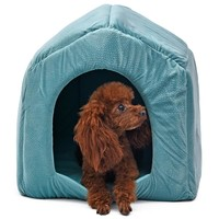 Pet Supplier Dog House Windproof Stone Pattern Pet Kennel 5 Colors Leisure Style Dog Cat Sofa-Waterproof and Skid-Free Base