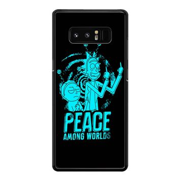 Rick And Morty Peace Among Worlds 001 Samsung Galaxy Note 8 Case