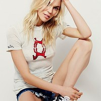 Free People Heirloom Horsin Around Tee