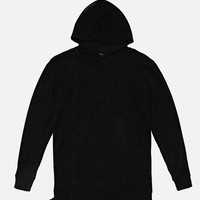 LS Hooded Rebel / Black