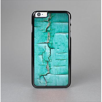 The Peeling Teal Paint Skin-Sert Case for the Apple iPhone 6 Plus