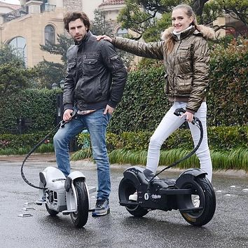 Engine Speed 9500R/min Rear Disc Brake Self-balancing Skateboard Two stroke 49CC 1000W/36V Off-road Two-wheel Electric Scooter