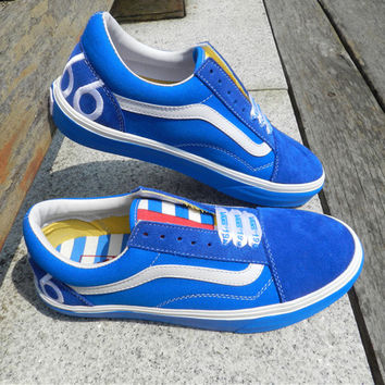 "Trendsetter Vans Classics ""1966"" Canvas Old Skool Flat Sneakers Sport Shoes"