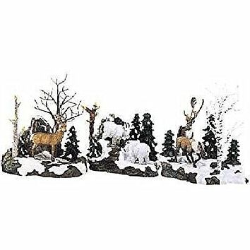 Dept. 56 Woodland Animals at Cliff's Edge