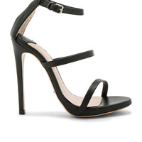 Tony Bianco Atkins Heel in Black Capretto