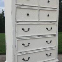 Annie Sloan Chalk Painted Dresser/ Chest of Drawers Furniture