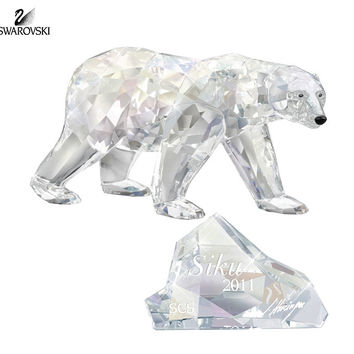 Swarovski Crystal Figurine Annual Edition 2011 POLAR BEAR SIKU #1053154