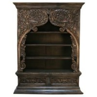One Kings Lane - Peninsula Home - San Antonio Bookcase, Espresso