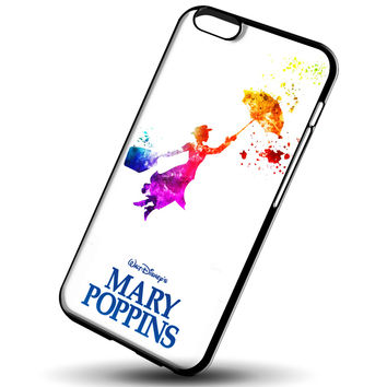 Mary Poppins in Watercolor Art for iPhone 6/6S Case