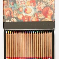Artist Coloured Art Pencil 24 Color Set, Tin Box