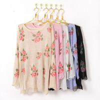 floral sweater - Google Search