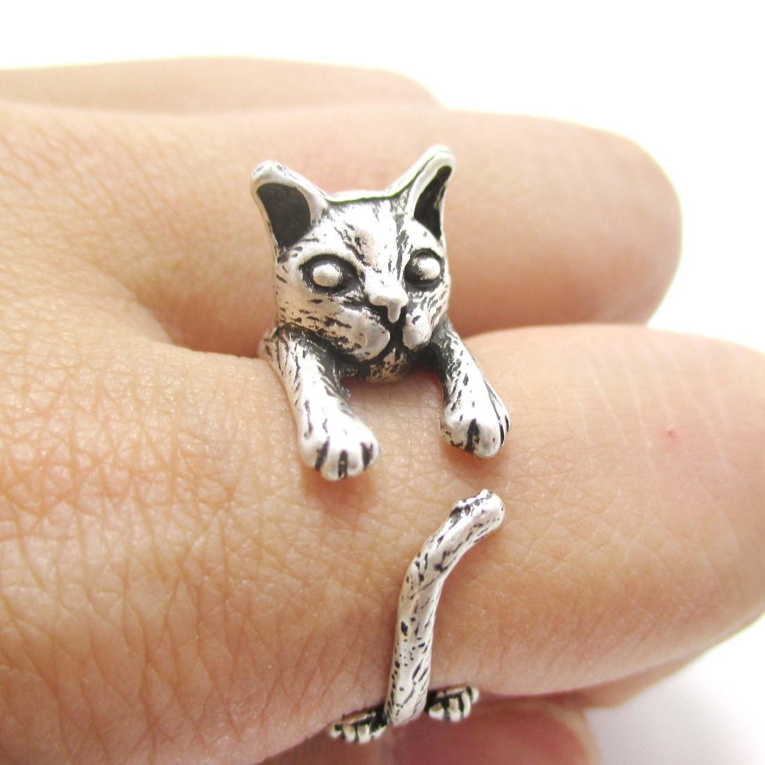 Detailed kitty cat shaped animal wrap from dotoly the animal