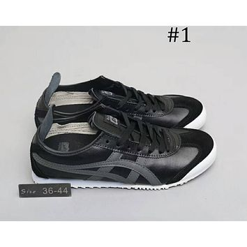 ASICS TIGER classic casual jogging shoes cushioning casual shoes F-A0-HXYDXPF #1