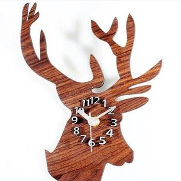 Modern Wall Clock 3D Mirror Surface Sticker