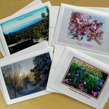 Greeting Cards: 4-piece sets; All-Purpose; options; by PonsART $18.00