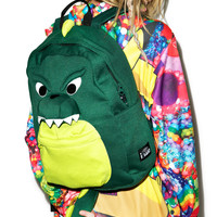 Sazac Dinosaur Backpack Green One