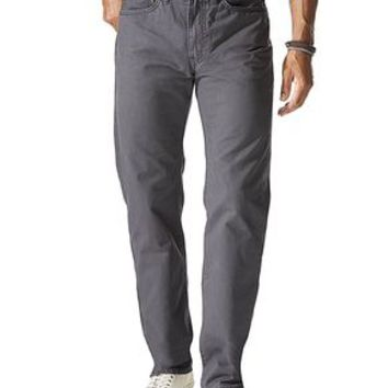Dockers 5 Pocket Straight Fit - Forged Grey - Men's
