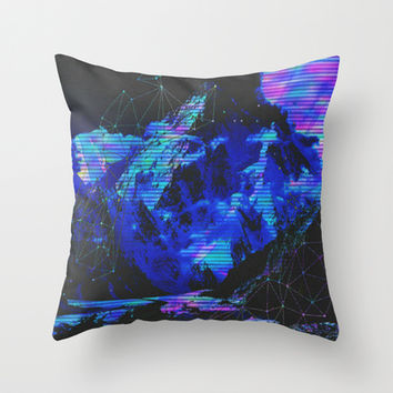 Techni-color Throw Pillow by DuckyB (Brandi)