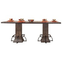 4022CDTBR Jennings Rectangle Counter Height Dining Table
