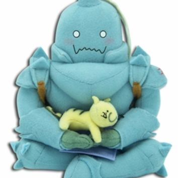 Fullmetal Alchemist Plush: Al Sitting with Cat