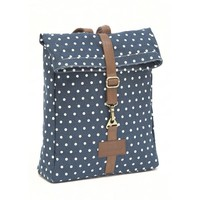 Backpack - Navy Dots