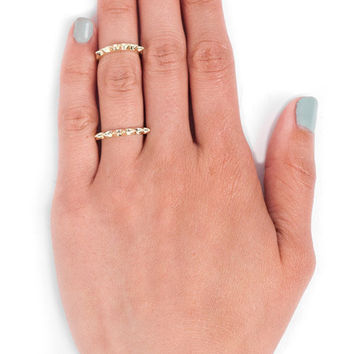 Thin Spike Ring $10