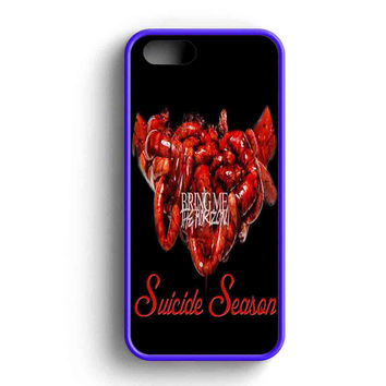 Bring Me The Horizon Suicide Season Illustrations iPhone 5 Case Available for iPhone 5 Case iPhone 5s Case iPhone 5c Case iPhone 4 Case