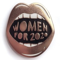 Women for 2020 Enamel Pin - LAST ONE!