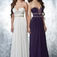 Shimmer by Bari Jay 59602 Strapless Prom Dresses