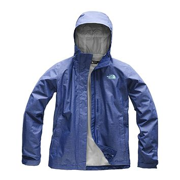 Women's Venture 2 Jacket in Sodalite Blue Heather by The North Face