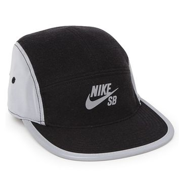 Nike SB Reflective Camper 5 Panel Hat - Mens Backpack - Black - One