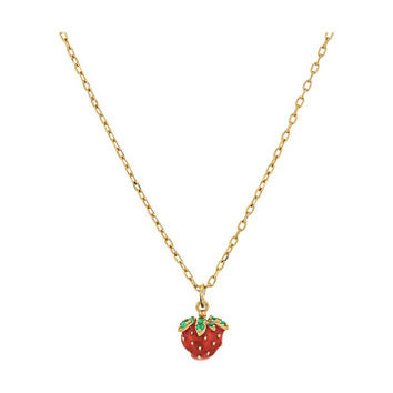 Marc Jacobs Something Special Strawberry Pendant Necklace