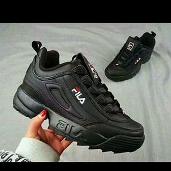 """""""FILA"""" Fashion Casual Elasticity Unisex Sneakers Couple Running Shoes"""