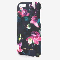 Fuchsia Floral iPhone 6 case - Dark Blue | Gifts for Her | Ted Baker