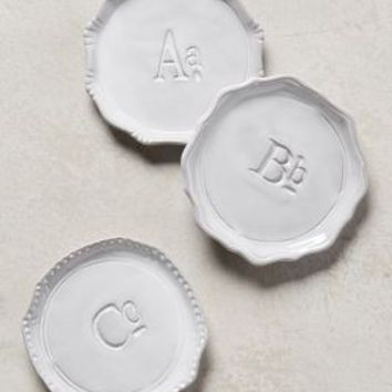 Superscript Monogram Coaster by Anthropologie in Assorted Size: