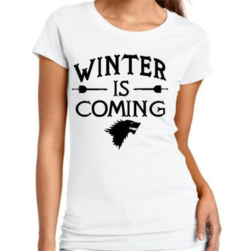 New 2016 Game of Thrones Ladies T-Shirt