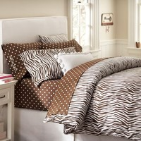 Zebra Duvet Cover & Pillowcases