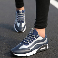 Block Lace Up Running Sneakers