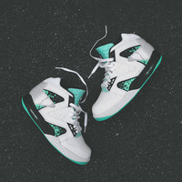 NIKE Air Tech Challenge Hybrid QS - White / Green Glow